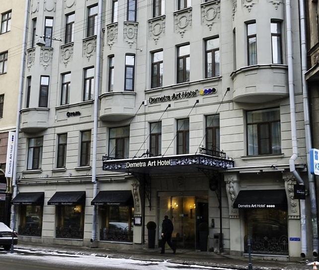 Санкт-Петербург. Деметра Арт отель (продолжение)