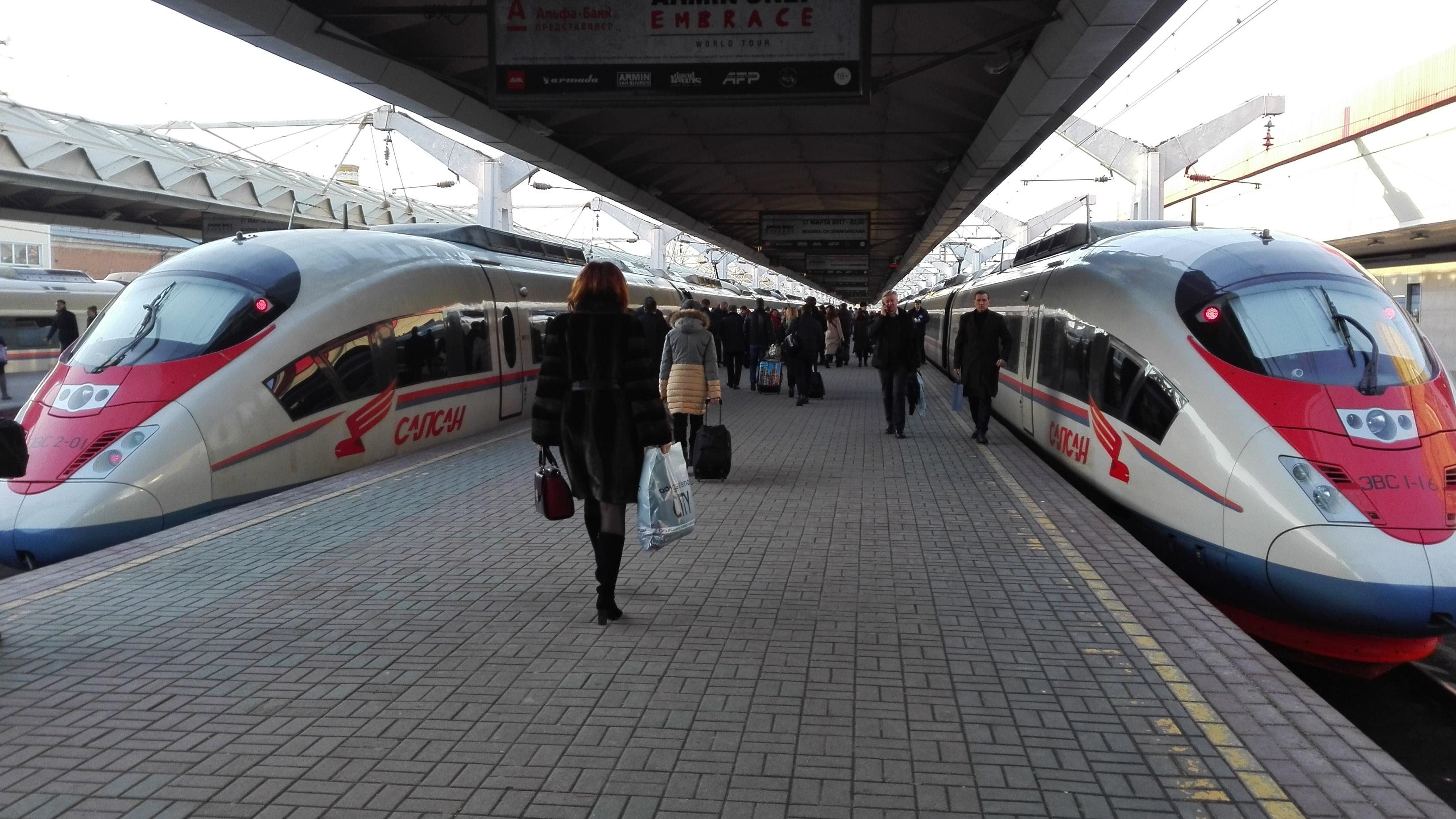 Подводим итоги — новинки 2017 года в скоростном поезде «Сапсан»